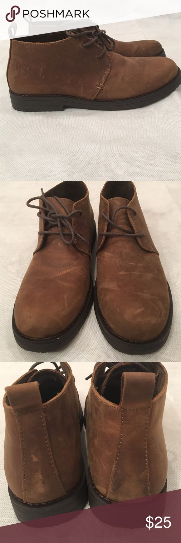 NWOT men's brown chukka boot NWOT. Never been worn. They are in perfect condition and are very stylish Shoes Chukka Boots