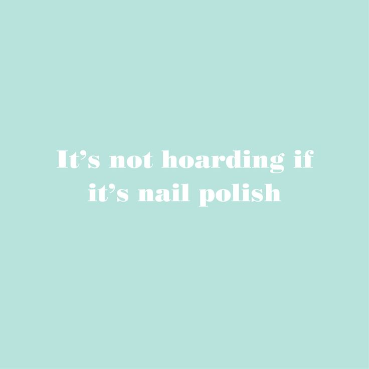 The limit does not exist when it comes to essie nail polish...right?!
