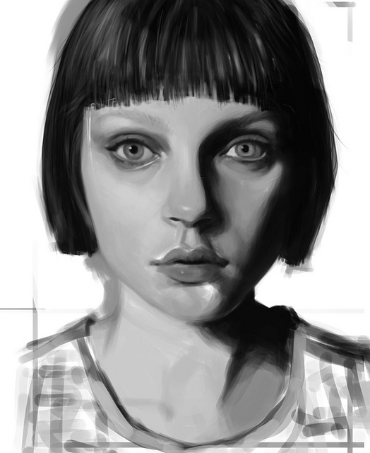 digital painting #paintingDigital Paintings, Portraits Painting, Painting'S Drawing, Painting Illustration, Awesome Pin, Art Reference, Favorite Pin, Popular Pin, Painting Painting