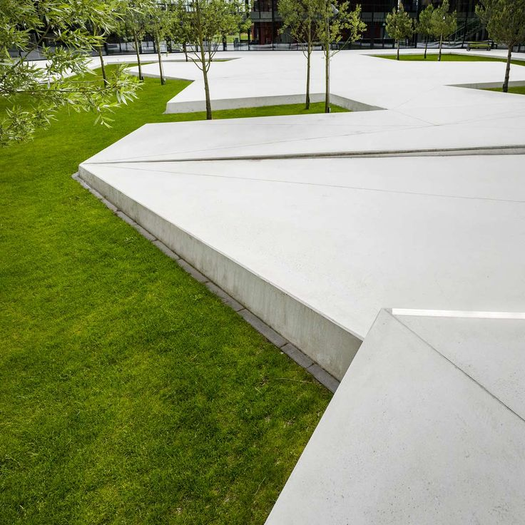 Grønnegården – Herning High School | Schonherr Landscape Architects | © Jens Lindhe
