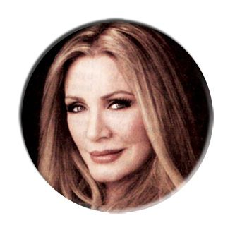 ONLY ONE Shannon Tweed Simmons 2-1/4 Inch Button
