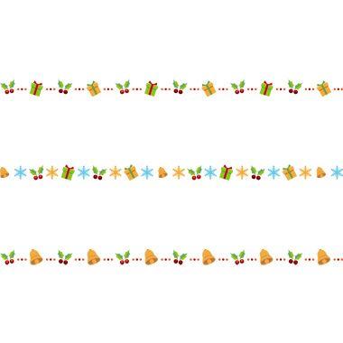 冬のライン無料イラスト(柊とプレゼント)JPG画像/PNG画像/ai形式/psd形式/より選んでご利用下さい。
