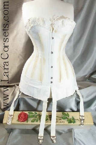Early 1910s Over-bust corset