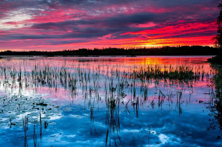 Lac Dufault, Abitibi-Témiscamingue, Québec, Canada by Mathieu Dupuis www.mathieudupuis.com