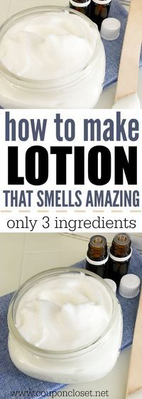 Ever wonder how to make lotion? Learn How to make lotion easily and for less! this diy body lotion is easy to make and an natural body lotion. Homemade body lotion is frugal too - DIY Moisturizer