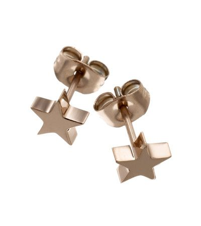 Star studs small rose gold - Edblad