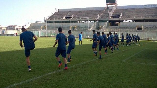 Taranto F.C. Ripresa degli allenamenti per i rossoblu. Lavoro in palestra per Matias