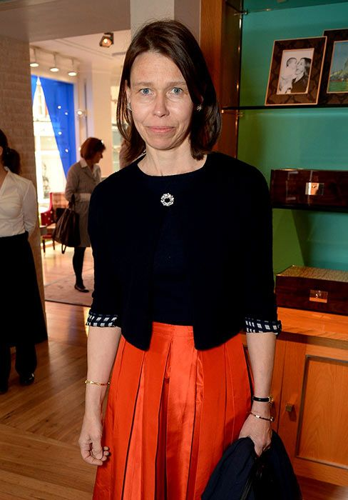 Lady Sarah Chatto, love the skirt and top - so lady like and still with it.