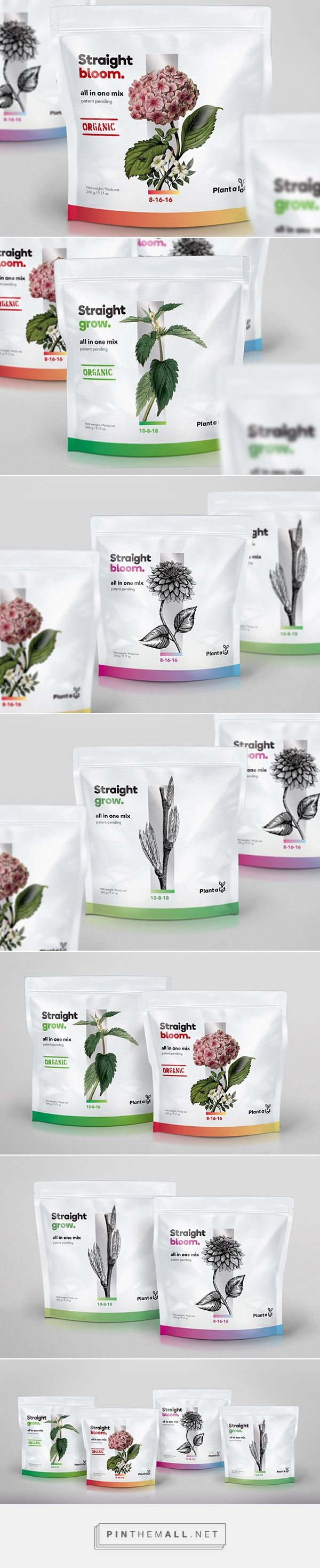 Plant a lot fertilizers by Counterpounch Design. Pin curated by #SFields99 #packaging #design