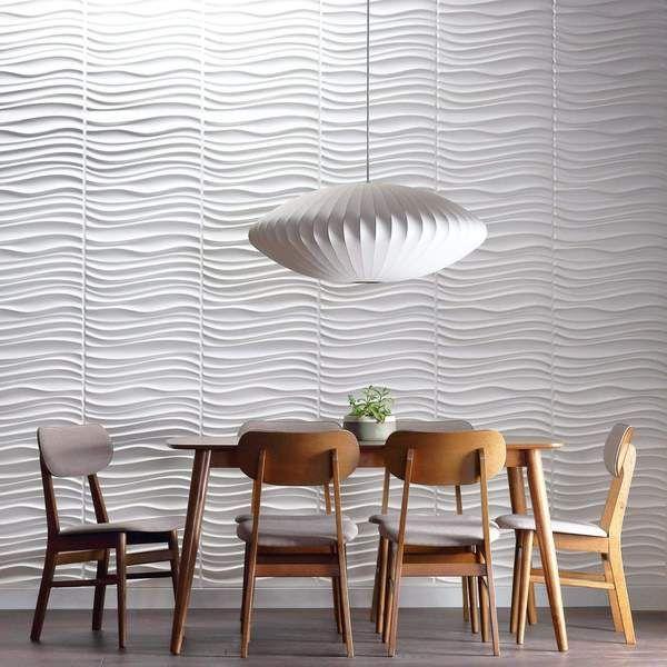 Current Wall Flats - 3D Wall Panels-Wall Flats - 3D Wall Panels-Inhabit
