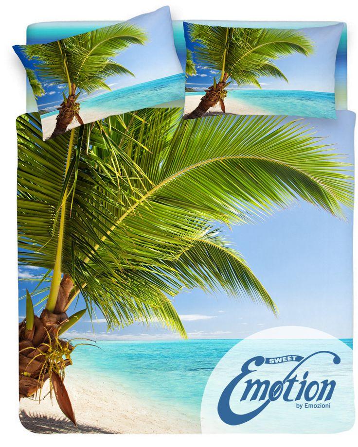 Digital Dream // Variante #Maldive  #lenzuola #coppiafedere #copripiumino #trapunta www.sweet-emotion.it