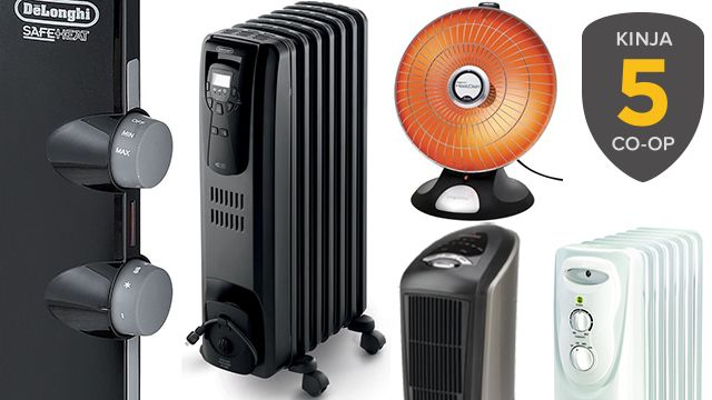 We've got your five most starred nominees for best space heater, and now it's time to find a winner. Read up and head for the poll.