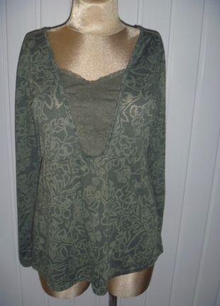 Kup mój przedmiot na #vintedpl http://www.vinted.pl/damska-odziez/bluzki-z-dlugimi-rekawami/9884986-bluzka-z-dlugim-rekawem-kolor-khaki