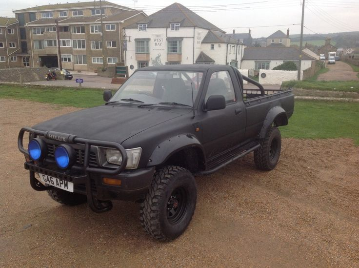 1989 TOYOTA HI-LUX 4X4 !, PICK UP, , MODIFIED MONSTER TRUCK, , NO SWAP ?? | eBay