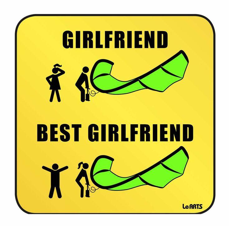 best girlfriend kitesurf