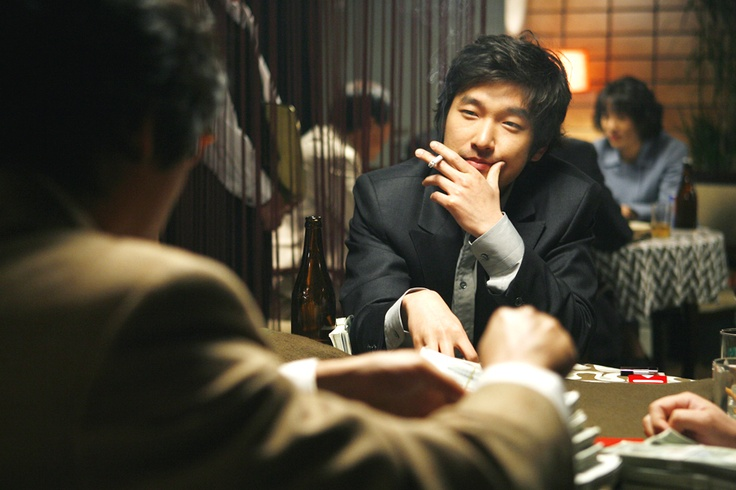 CHO Seung-woo in TAZZA: THE HIGH ROLLERS (Tajja, 타짜œ, The War of Flowers). Now Available on R1 DVD! © 2006 CJ Entertainment Inc. and IM Pictures Corp.