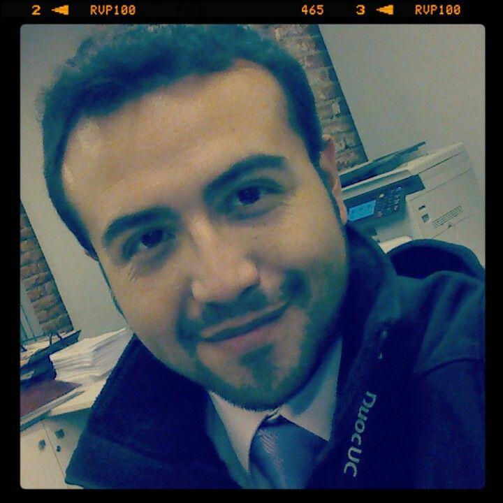 Una selfie en el trabajo