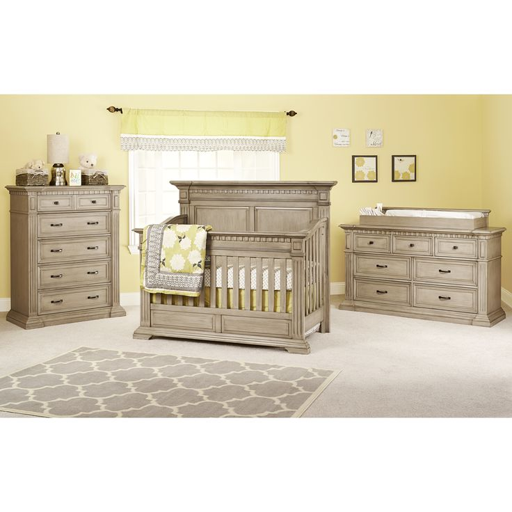Kingsley Venetian Nursery Furniture Collection in Driftwood
