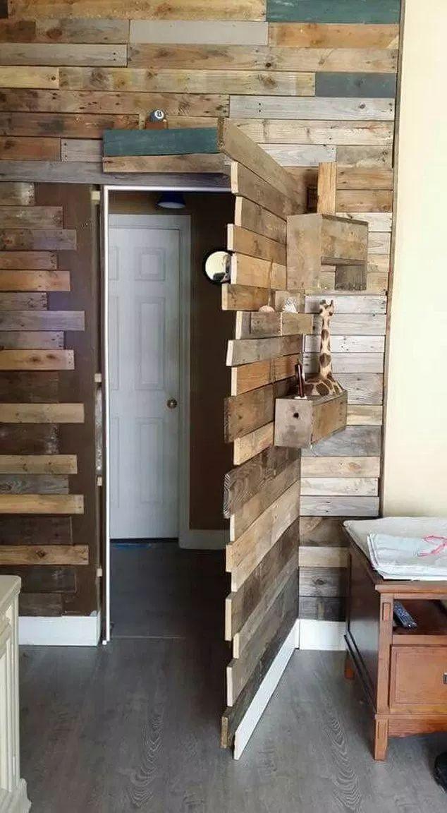 Secret Door Hidden Rooms Entrance