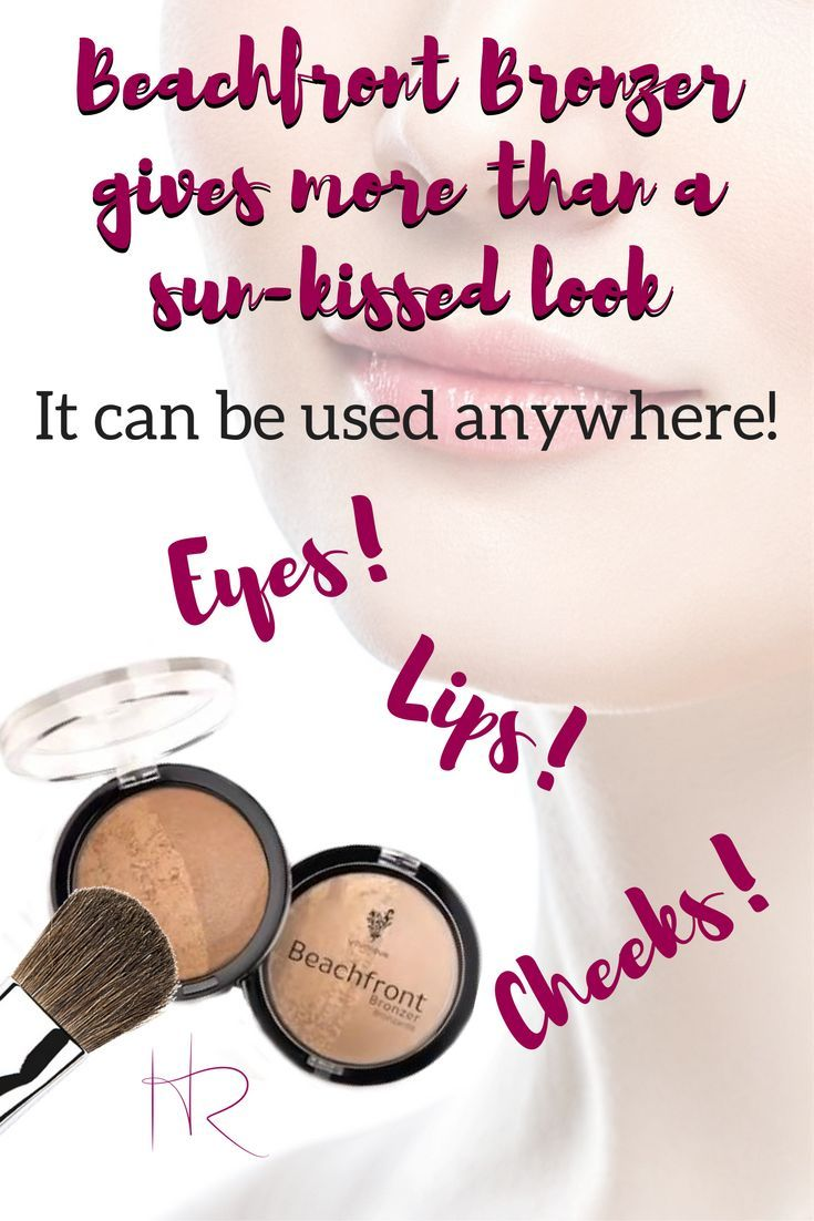 Beachfront Bronzer is not just for bronzing and getting a sun-kissed look. It is very versatile and can be used anywhere; on cheeks, lips and even your eyes! Click the image to watch how to use it as part of an everyday look.