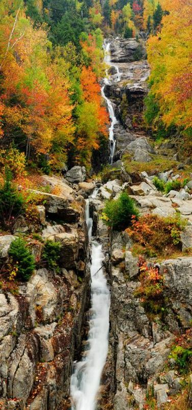 Fall, New England #waterfall #fall #newengland