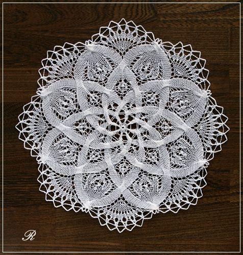 クンストレース(knitted lace) - 白い手帖