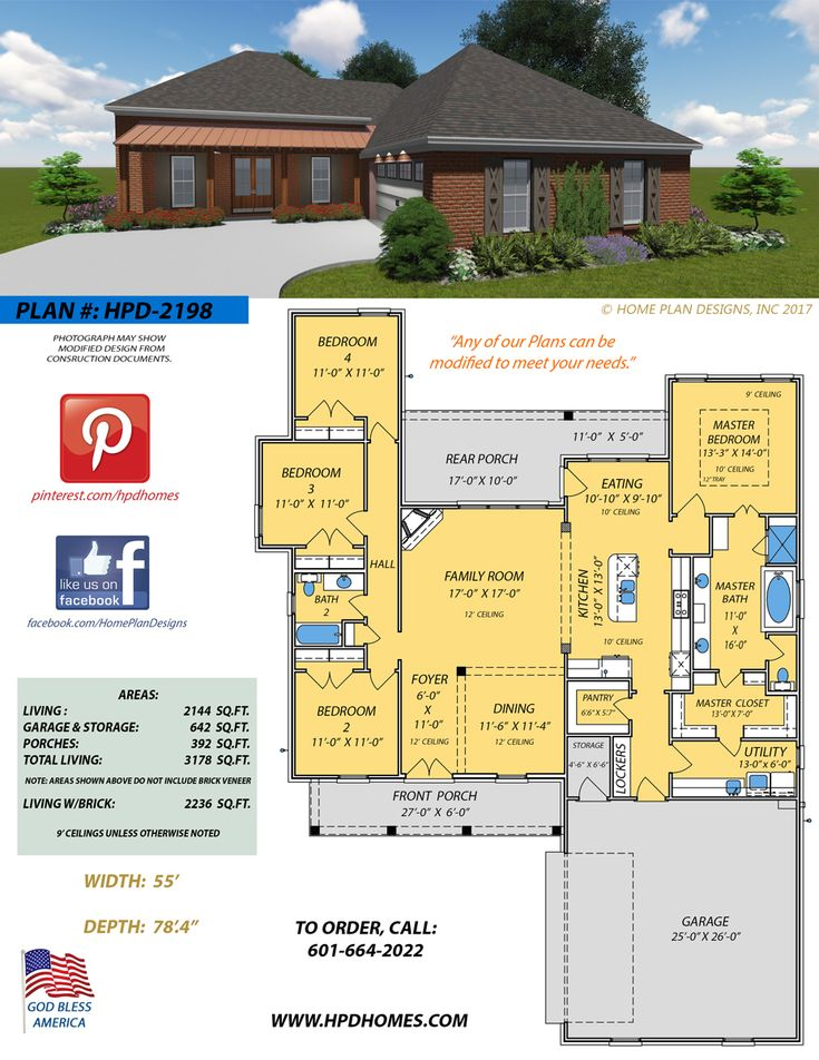New Home Plan Design By Judson Wallace. Contact Home Plan Designs At To  Make Your Dream Home A Reality!