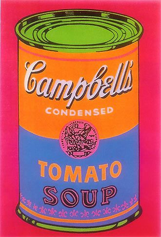 Campbell's Tomato Soup, 1968 Andy Warhol