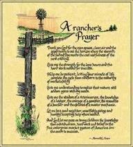 Farmer's Wife Prayer | Ranchers Prayer © Ron Knox Tapestry