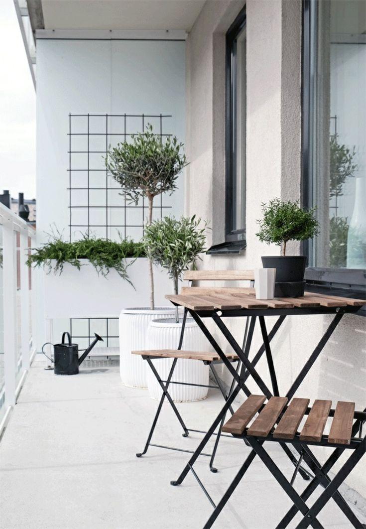 Die 25+ Besten Ideen Zu Kleinen Balkon Gestalten Auf Pinterest ... Gartnern Auf Dem Balkon Frische Gestaltungsideen Fur Ihre Personliche Oase