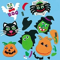 Figuras de foamy de Halloween: De Halloween, De Foamy, Foamy De, Figures, Craft Ideas