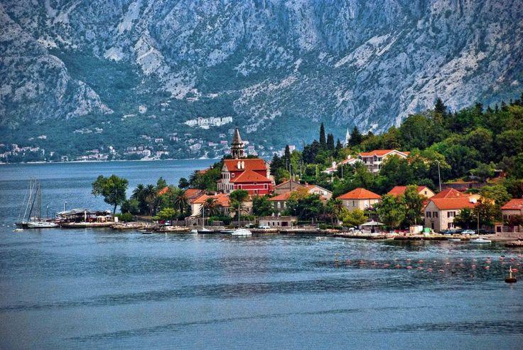 dobrota, bay of kotor, montenegro
