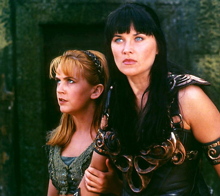 It doesn't get much better than Xena and Gabrielle for girl power.