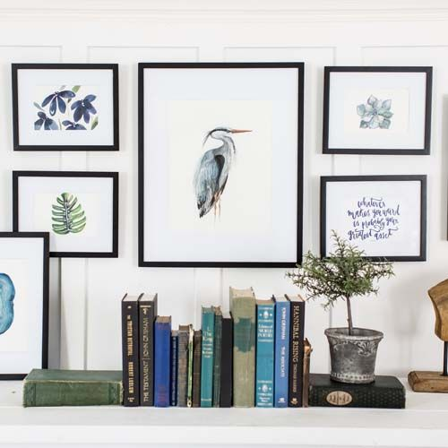 25 best ideas about eclectic gallery wall on pinterest eclectic artful entryway gold picture - Eclectic picture frame wall ...