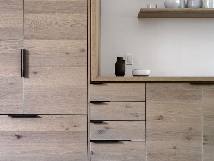 Kitchen : Kitchen Handles On Shaker Cabinets With Urban Vibe Also Smooth  Wide Board And Oak Solid And Veneered Wood Material Besides Cabinetry  Workstead ...