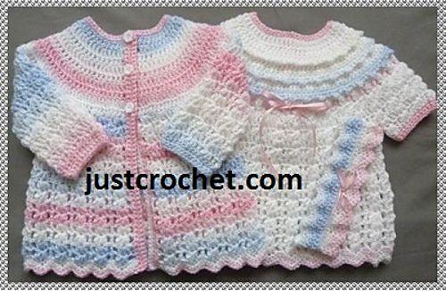 Ravelry: Baby crochet pattern JC127B pattern by Justcrochet Designs
