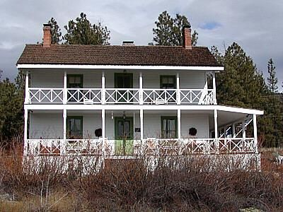 I Love The Large Wrap-Around Porches. Actor Ted Dansen Lived In This House In Flagstaff, AZ.