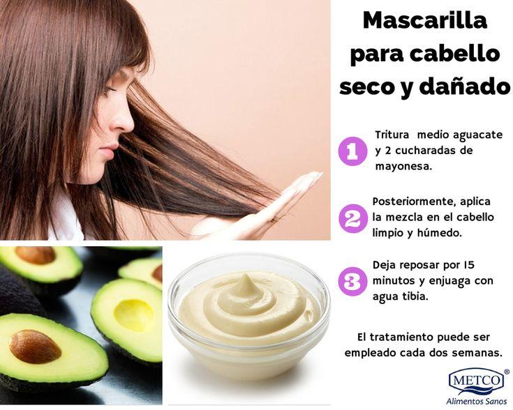 ¿Tienes el cabello maltratado? Prueba esta mascarilla, reparará y suavizará tu cabello. ¡Cuéntanos los resultados! #Salud #Belleza #Tips