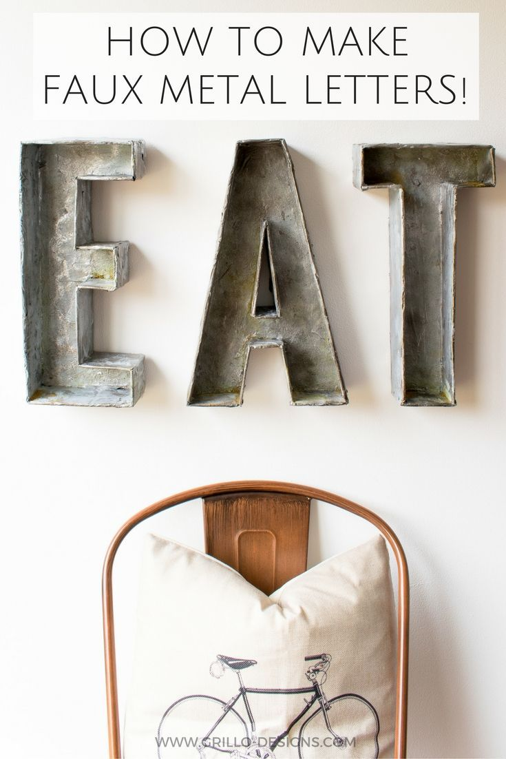 Metal Craft Letters 17 Best Images About Spell Me On Pinterest  Industrial Metal
