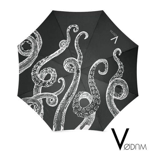 OCTOPUS UMBRELLA Gothic Ursula Disney Black Dark Occultism