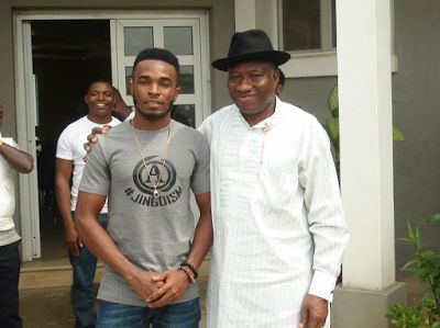 GEJ endorses De-Alammies Enntertainment signed act ''Taztee''