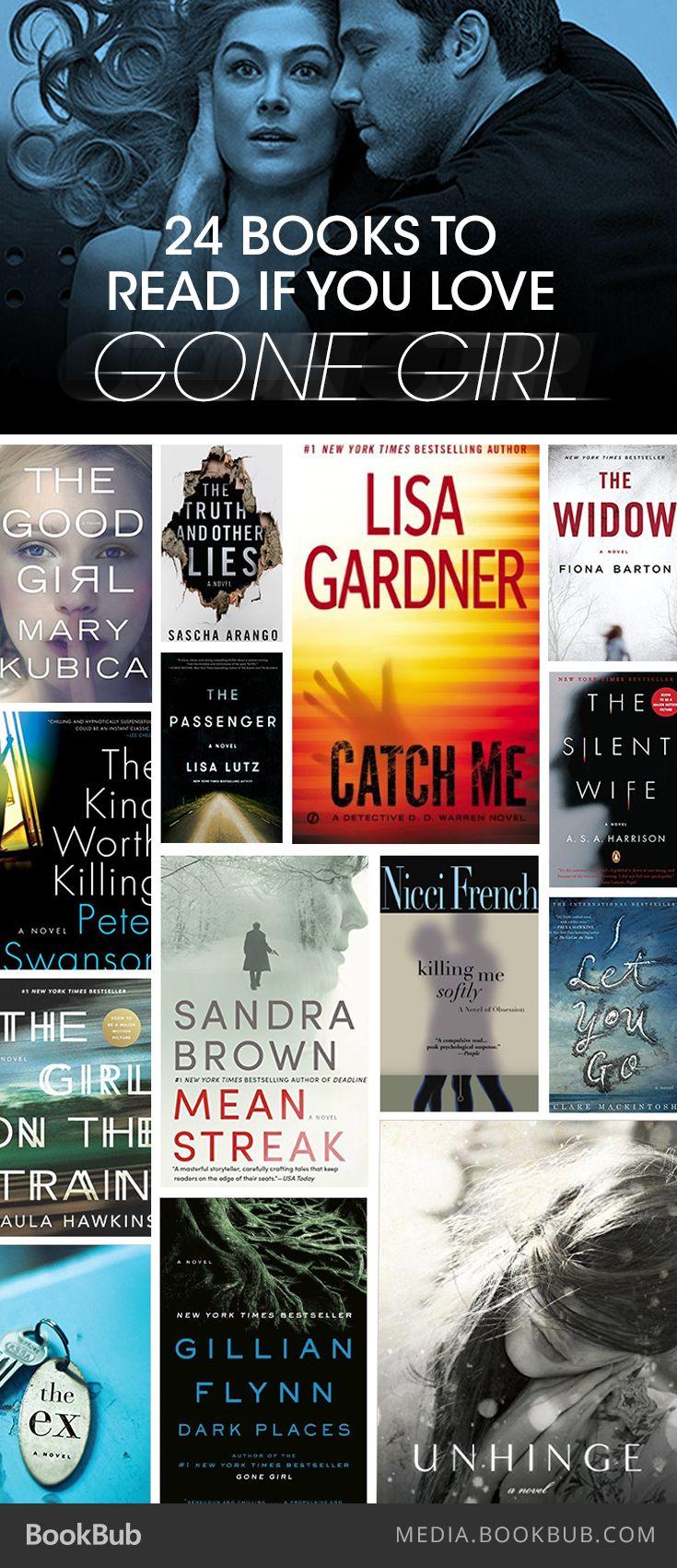 24 Must-Read Books If You Love 'Gone Girl'Suzi Bryant