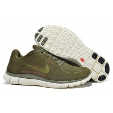 Nike Free Run 3 Suede Mens Running Shoes - Deep Brown
