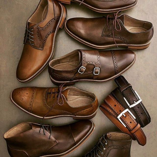 Canal Masculino : Foto So many beautiful shoes n boots ☺na