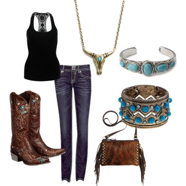 """""""Cowgirl Style"""" by thecowgirlwaymagazine on Polyvore"""