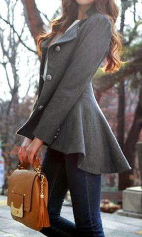 Curating Fashion & Style: Fashion trends | Grey blazer