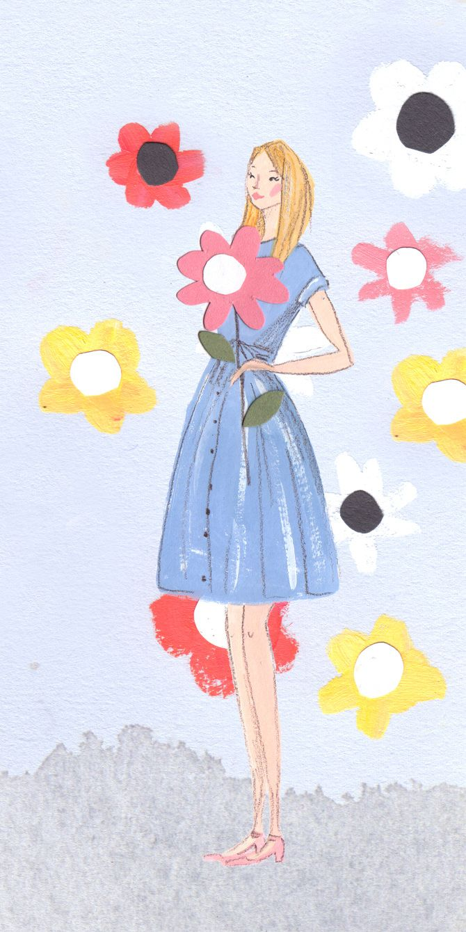 Orla Kiely SS15 - Emma Block Illustration