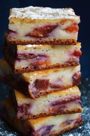 Prajitura cu prune si iaurt | CAIETUL CU RETETE