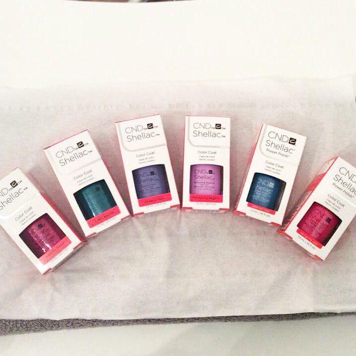 New Shellac Colours