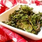 Kale Chips - made them for the first time tonight and we LOVE them!  I probably got them a little too salty.  I salted to taste, and used cooking spray instead of olive oil.
